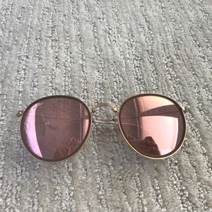 Ray Ban round folding sunglasses